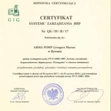 ISO 18001 - 2004